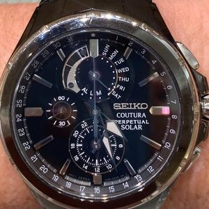 Seiko Coutura Perpetual Solar, day and date